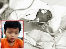 Cha bị tai nạn nguy kịch, bé trai 3 tuổi chỉ nhớ tên, ngồi khóc nức nở trong bệnh viện tìm người thân