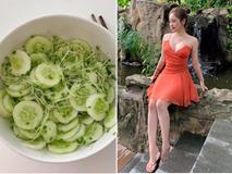 Chỉ 1 tô salad và uống nước chanh trong ngày, chế độ ăn ép cân này của Thúy Vi liệu có khoa học?