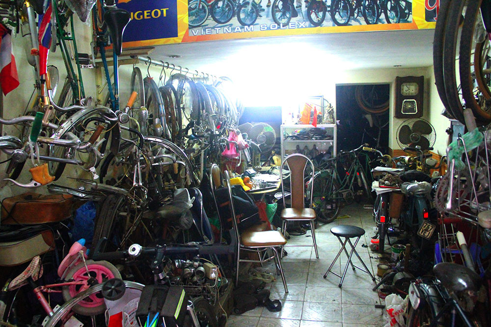 Những chiếc xe đạp cổ giá bằng cả chiếc ô tô-7