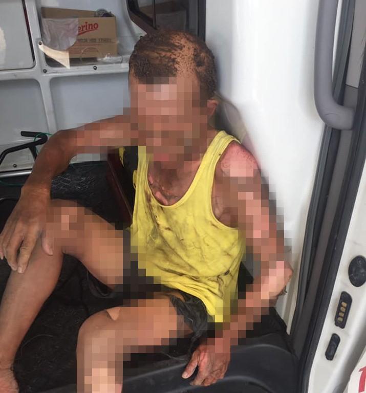 Vụ con trai ôm xăng đốt bố ở Nam Định: Người thân kể lại giây phút kinh hoàng-1