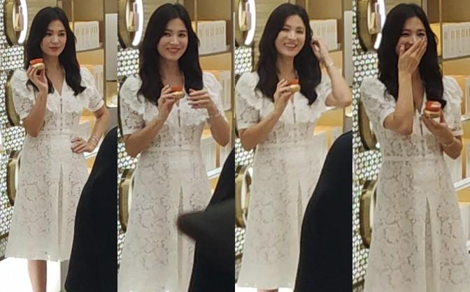 HOT: Song Hye Kyo lần đầu lộ diện sau vụ ly hôn ngàn tỷ, nhan sắc cực phẩm nhưng lại tiều tụy đến xót xa-8