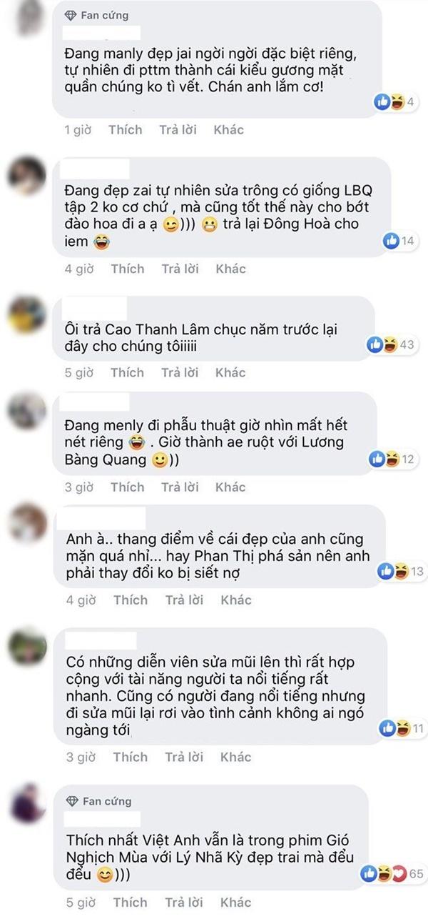 Dàn sao hoang mang với gương mặt lạ hoắc của Việt Anh, lời Dương Yến Ngọc phán gây chú ý-2