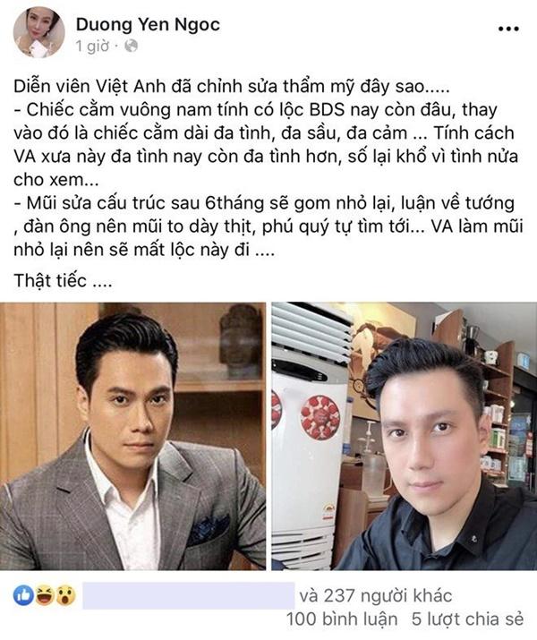 Dàn sao hoang mang với gương mặt lạ hoắc của Việt Anh, lời Dương Yến Ngọc phán gây chú ý-4