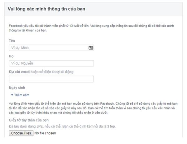 4 cách lấy lại tài khoản Facebook khi bị mạo danh-3