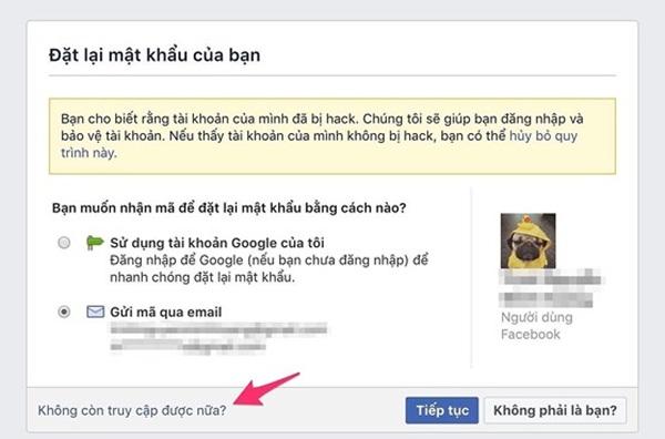 4 cách lấy lại tài khoản Facebook khi bị mạo danh-4