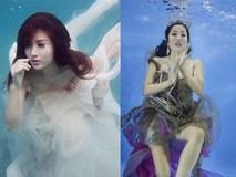 Loạt ảnh sao Việt chụp hình dưới nước: Người như nữ thần, kẻ hài đến khó tả