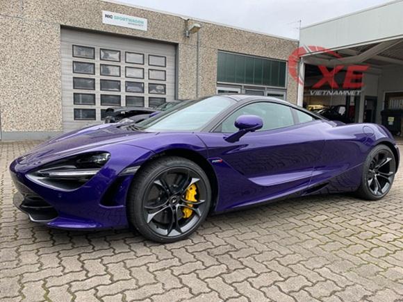Đại gia Vũng Tàu đặt gạch siêu xe McLaren 26 tỷ đồng màu tím độc-4