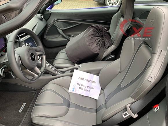 Đại gia Vũng Tàu đặt gạch siêu xe McLaren 26 tỷ đồng màu tím độc-5