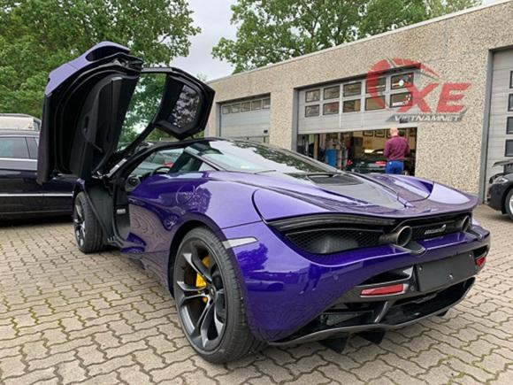 Đại gia Vũng Tàu đặt gạch siêu xe McLaren 26 tỷ đồng màu tím độc-6