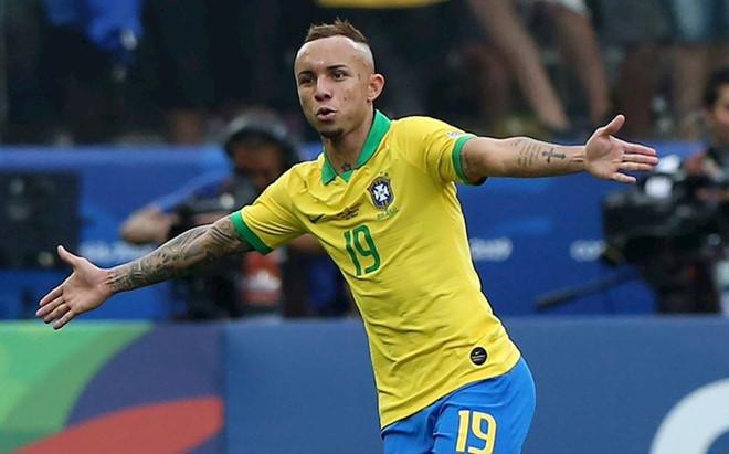 Brazil vô địch Copa America với 10 người-1