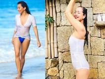 MC Nguyễn Cao Kỳ Duyên, Chiều Xuân... gần 60 có body đủ sexy để mặc bikini