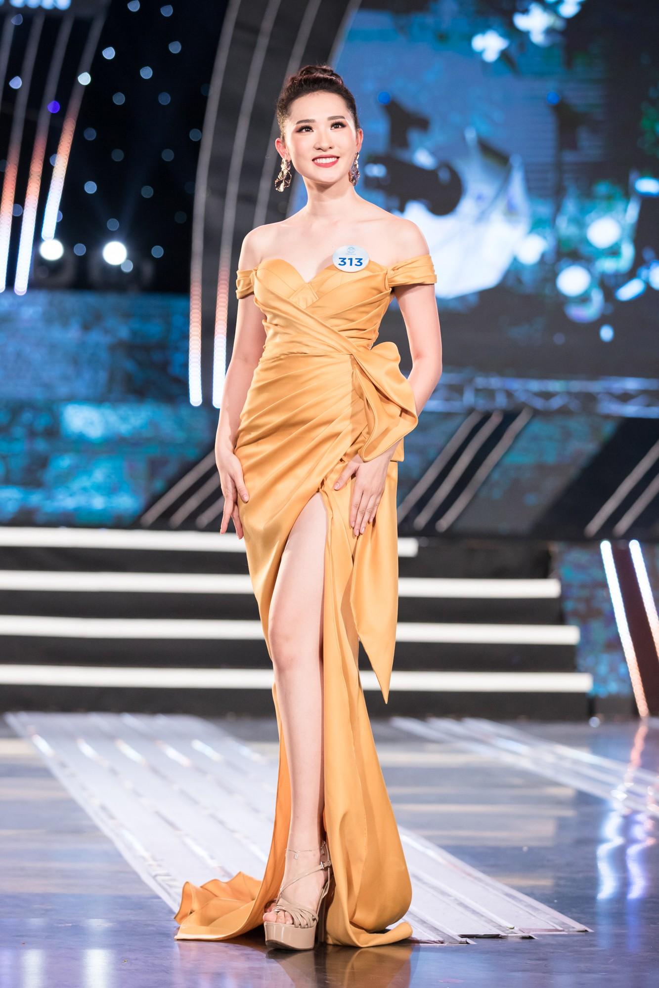Soi nhan sắc 20 cô gái phía Bắc vừa lọt Chung kết Miss World VN: Thí sinh mặt đẹp nhất lại lộ vóc dáng đô con, thiếu đường cong-7
