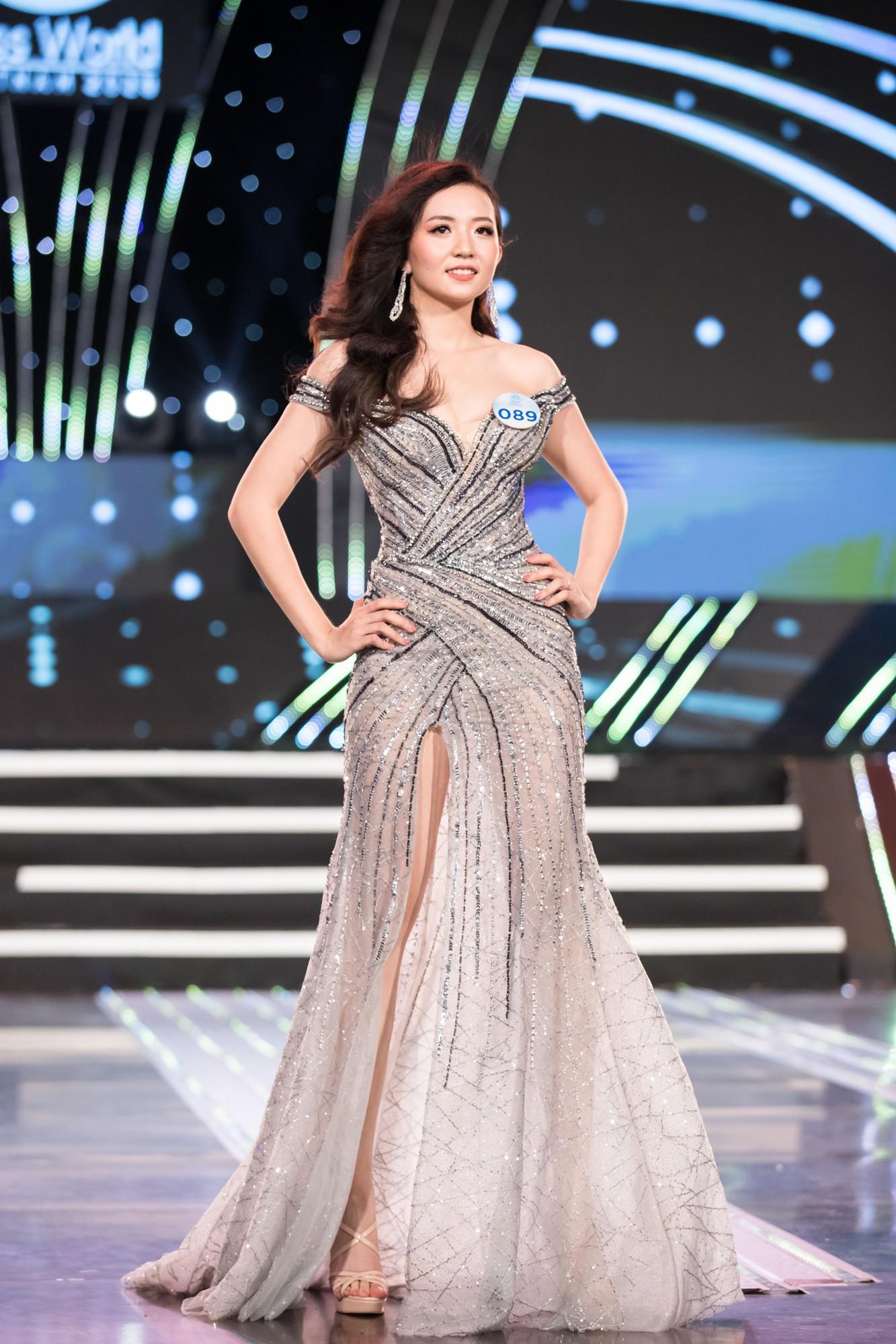 Soi nhan sắc 20 cô gái phía Bắc vừa lọt Chung kết Miss World VN: Thí sinh mặt đẹp nhất lại lộ vóc dáng đô con, thiếu đường cong-10