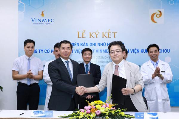 Vinmec tiếp nhận công nghệ điều trị ung thư gan độc quyền từ Nhật Bản-1