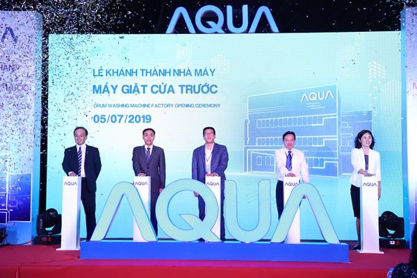AQUA Việt Nam khánh thành Nhà máy Máy giặt cửa trước-1