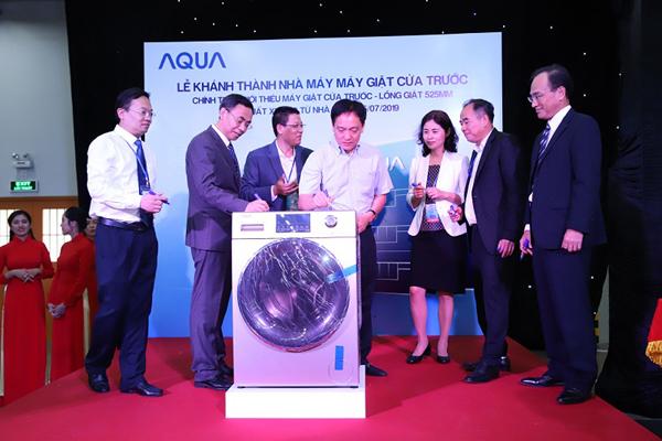 AQUA Việt Nam khánh thành Nhà máy Máy giặt cửa trước-3