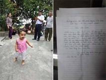 Vụ nữ sinh viên bỏ con ở chùa kèm lá thư