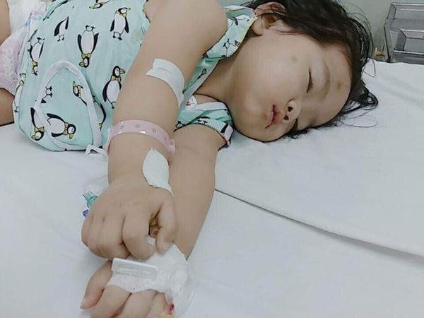 Bức thư đẫm nước mắt của người mẹ Kiên Giang gửi con gái 2 tuổi mắc ung thư-2