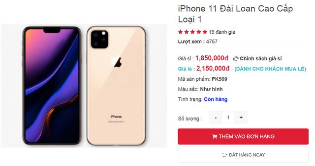 iPhone 11 chưa ra mắt, hàng nhái đã tràn ngập thị trường Việt-2
