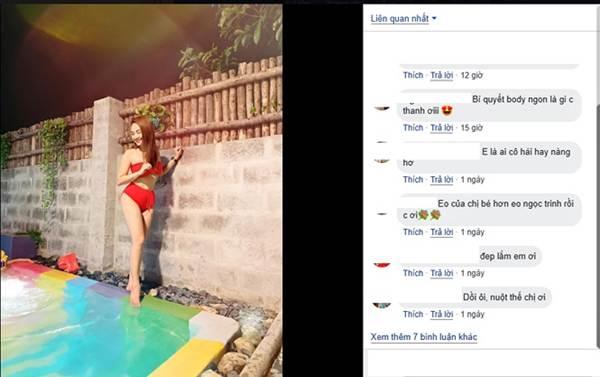 Phát sốt với ảnh bikini của Bảo Thanh được khen eo thon hơn Ngọc Trinh-3