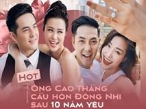 HOT: Đông Nhi hạnh phúc khoe nhẫn, chấp nhận lời cầu hôn của Ông Cao Thắng sau 10 năm yêu
