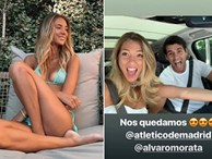 Cổ động viên Chelsea nuối tiếc bà xã xinh đẹp rạng ngời của Morata
