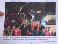 Đề thi để trở thành phóng viên của Học viện Báo chí: Từ bức ảnh Việt Nam ăn mừng chiến thắng AFF CUP 2018, viết 1 bài 500 chữ