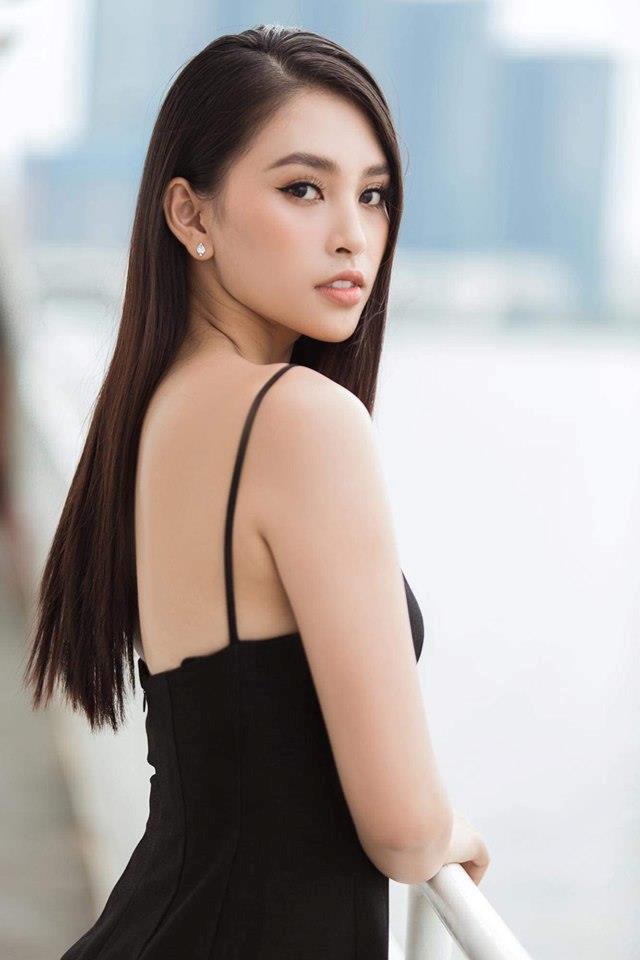 Hoa hậu Tiểu Vy ngày càng gợi cảm, táo bạo ở tuổi 19-7
