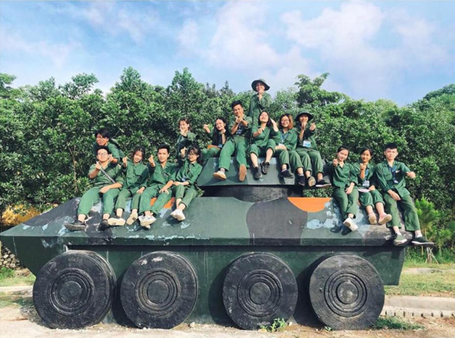 Chùm ảnh học quân sự tuyệt đẹp tại Xuân Hoà: Lăn lộn 30 ngày đêm ở đây, đời sinh viên còn gì để tiếc nuối-2