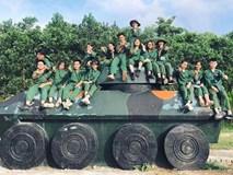 Chùm ảnh học quân sự tuyệt đẹp tại Xuân Hoà: Lăn lộn 30 ngày đêm ở đây, đời sinh viên còn gì để tiếc nuối