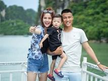 Hạnh phúc như gia đình Kỳ Hân - Mạc Hồng Quân: Vợ vừa đi công tác đã liên tục nói nhớ nhà, chồng tự tay chăm sóc con trai cực chu đáo