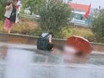 Ông bà ngoại chết thảm dưới bánh xe tải, bé gái 7 tuổi may mắn thoát nạn, ngơ ngác tìm người thân-4