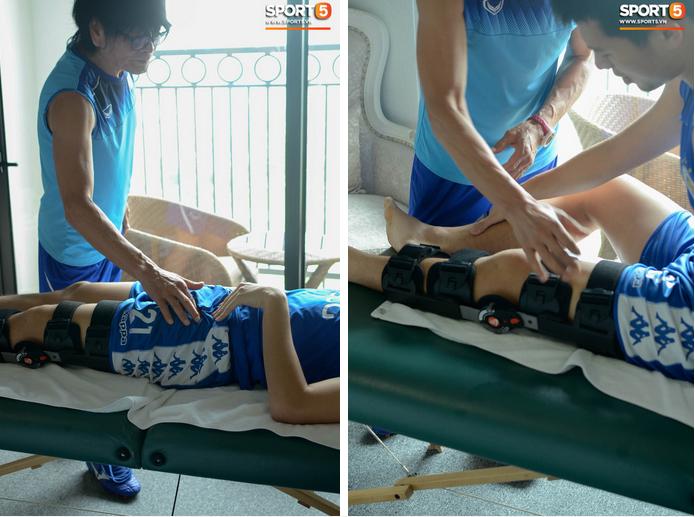 Đình Trọng kiên trì tập hồi phục, hy vọng mong manh kịp bình phục dự SEA Games 30-6