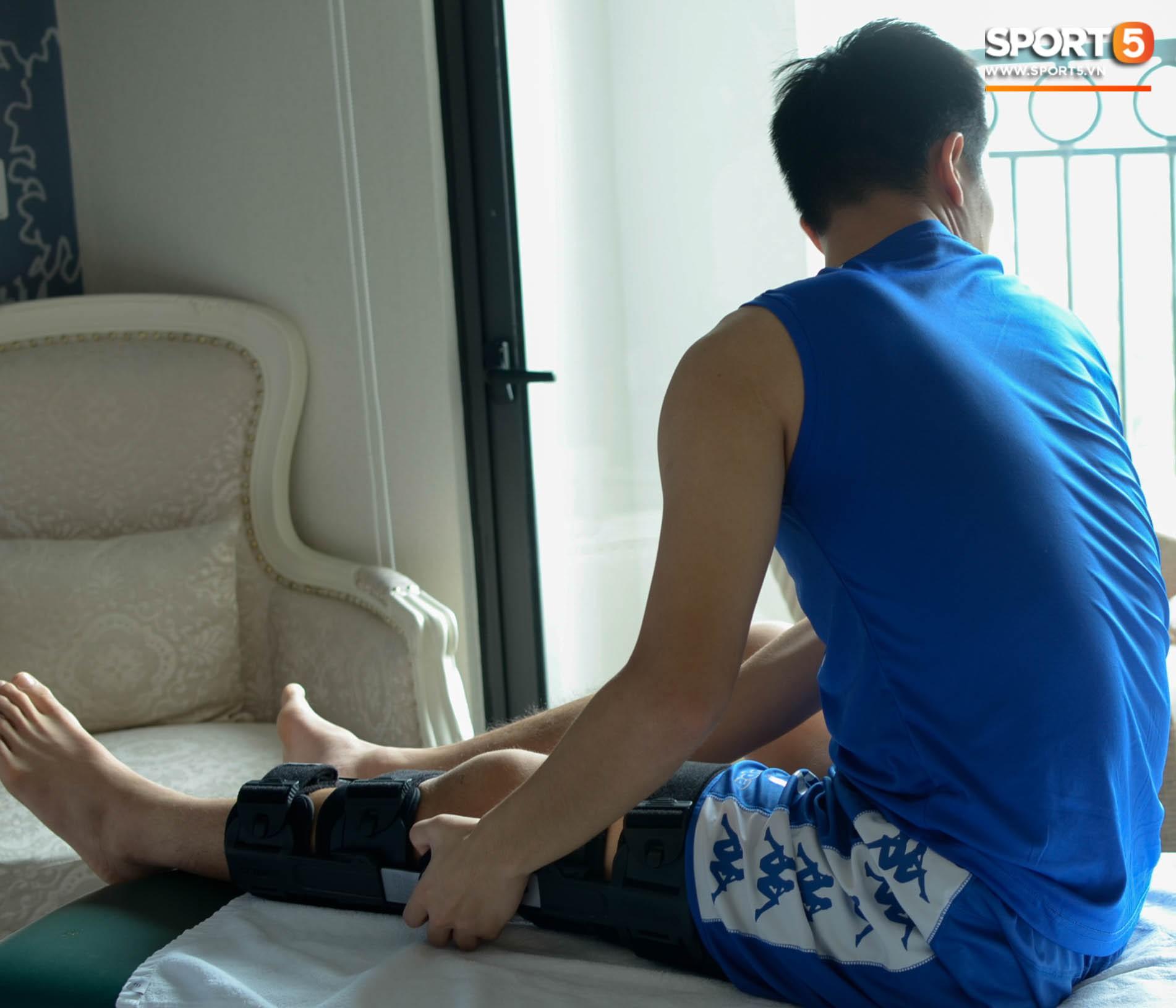 Đình Trọng kiên trì tập hồi phục, hy vọng mong manh kịp bình phục dự SEA Games 30-9
