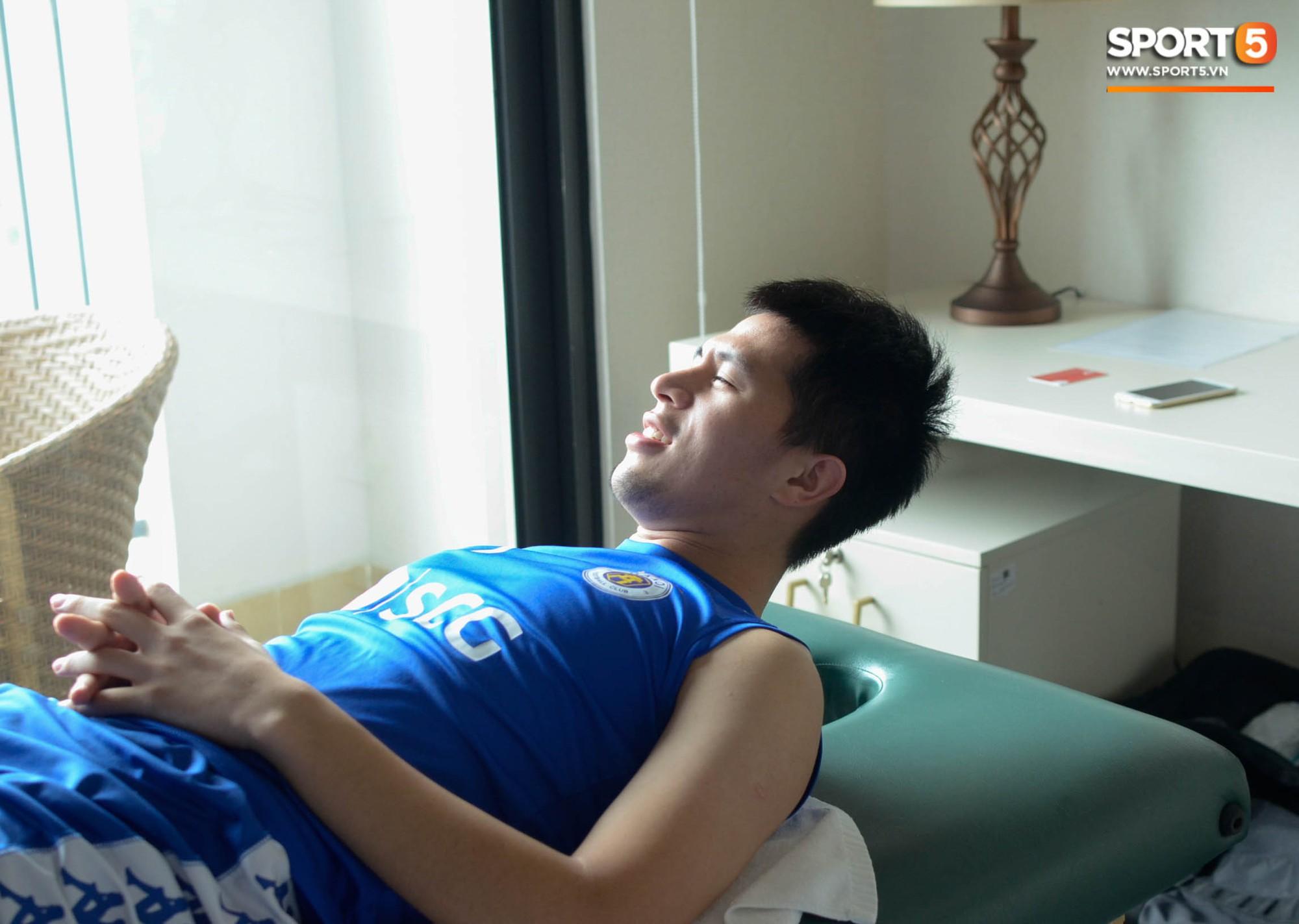 Đình Trọng kiên trì tập hồi phục, hy vọng mong manh kịp bình phục dự SEA Games 30-7