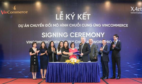 VinCommerce 'bắt tay' XAct xây dựng chuỗi cung ứng chuẩn thế giới-1