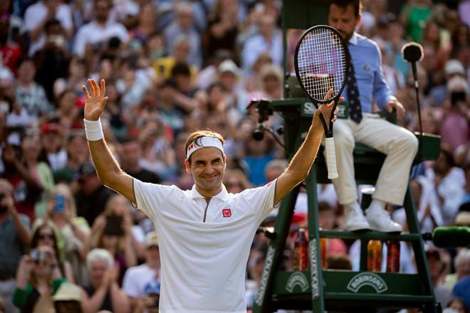 Roger Federer đối đầu Nadal tại bán kết Wimbledon-4
