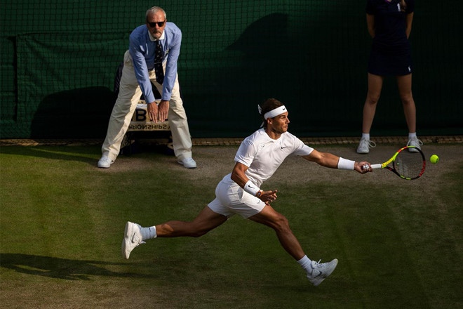 Roger Federer đối đầu Nadal tại bán kết Wimbledon-5