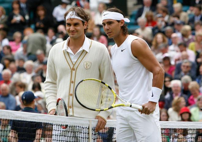 Roger Federer đối đầu Nadal tại bán kết Wimbledon-7