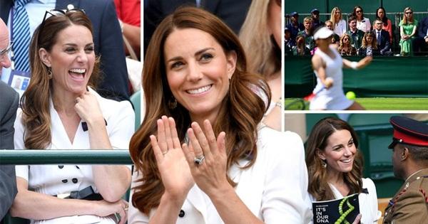 Mới làm dâu hoàng gia đã tỏ thái độ chảnh chọe, Meghan Markle còn phải chạy dài mới theo kịp chị đại Kate, đẳng cấp là phải thế này đây-5