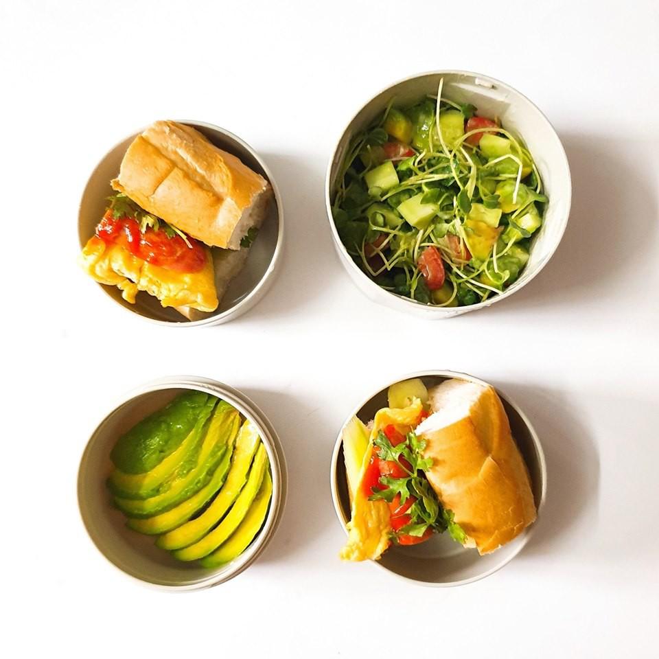 Chỉ với 50k đồng, cô gái trẻ làm ra hàng loạt bữa cơm trưa siêu tinh tế để chồng mang đi làm mỗi ngày-15