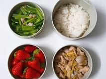 Chỉ với 50k đồng, cô gái trẻ làm ra hàng loạt bữa cơm trưa siêu tinh tế để chồng mang đi làm mỗi ngày