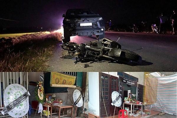 Tai nạn ở Hà Tĩnh, ám ảnh tiếng khóc xé lòng bên những vòng hoa trắng-1