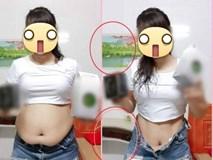 """Đỉnh cao dối lừa: Quảng cáo thuốc giảm cân nhưng bóp eo đến cong cả bàn, dân mạng mỉa mai """"photoshop non tay"""""""