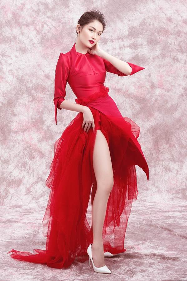 Nhan sắc ngày càng ngọt ngào, gợi cảm của Á hậu Thuỳ Dung ở tuổi 23-7