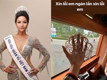 H'Hen Niê xin lỗi vì làm hỏng vương miện nhưng sự thật lại khiến fan thở phào