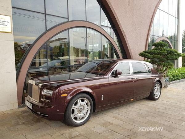 Ngắm Rolls-Royce Phantom 43 tỷ đồng của ông Lê Thanh Thản-1