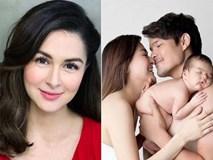 Người đàn bà đẹp nhất Philippines quá quyến rũ, như gái còn son vài tháng sau sinh