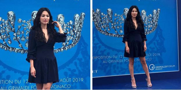 Hậu ly hôn, Song Hye Kyo lột xác với kiểu trang điểm sắc, trang phục cũng hở bạo và không kín mít như hồi trước-3
