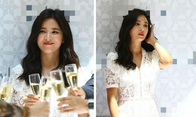 Hậu ly hôn, Song Hye Kyo lột xác với kiểu trang điểm sắc, trang phục cũng hở bạo và không kín mít như hồi trước-5